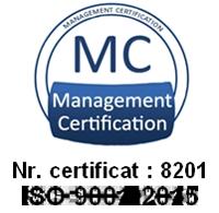 MediCentrum Certificat ISO 9001